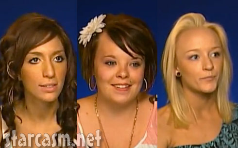 Teen Moms Farrah Abraham Catelynn Lowell and Maci Bookout talk about Amber Portwood