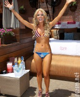 Gretchen Rossi American flag bikini picture 4 of 12