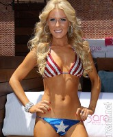 Gretchen Rossi American flag bikini picture 7 of 12