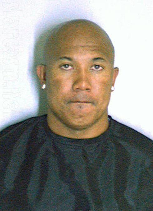 Pittsburgh Steelers' Hines Ward mug shot photo from 2011 DUI arrest