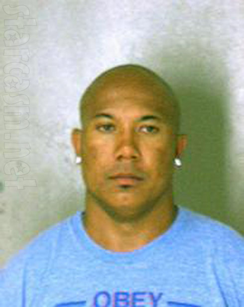 Hines Ward mugshot photo from 2011 DUI arrest in Dekalb County