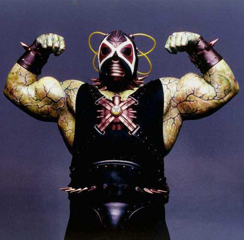 Jeep Swenson as villain Bane in Batman & Robin