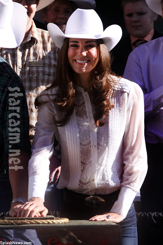 Kate Middleton goes country