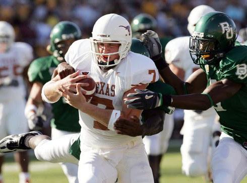 Most Eligible Dallas Matt Nordgren playing quarterback for the Texas Longhorns