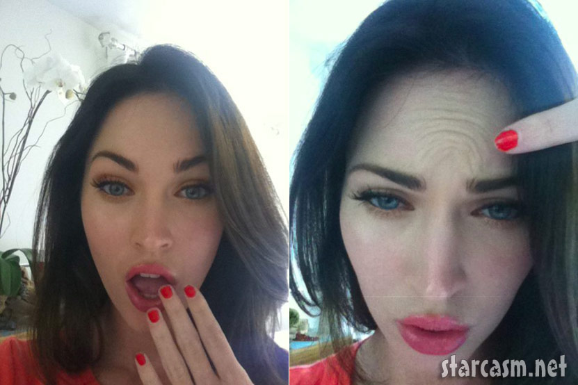 Megan fox showing off her boobs opinion only