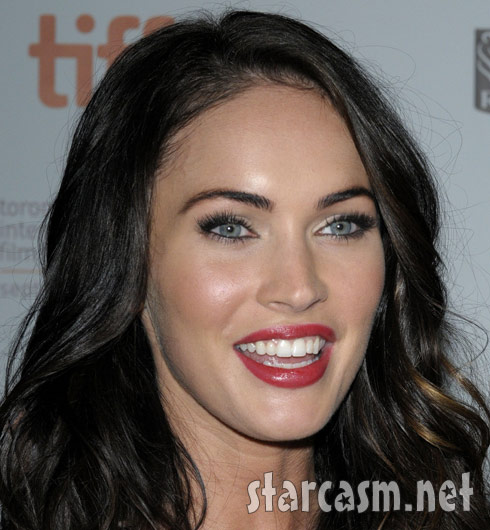 Megan fox showing off her boobs think