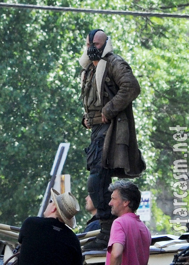 Tom Hardy as Bane in Batman The Dark Knight Rises