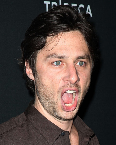 Zach Braff file photo