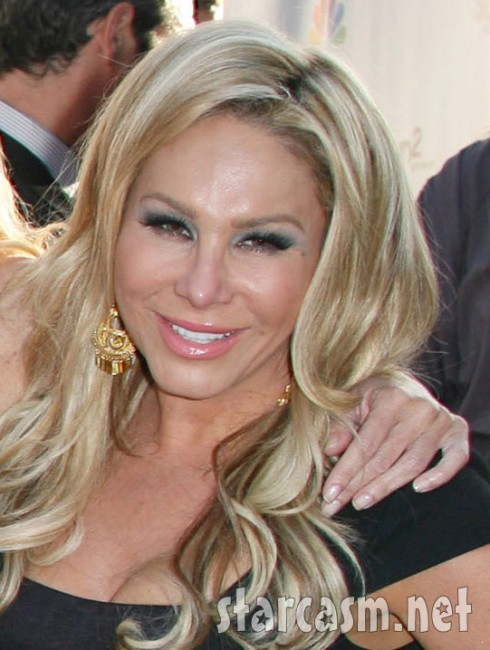 RHOBH Adrienne Maloof NBC Press Tour Party