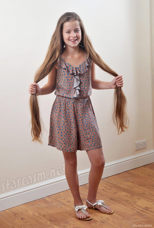 Real life Rapunzel Aimee Chase plans to cut her long hair for the first time