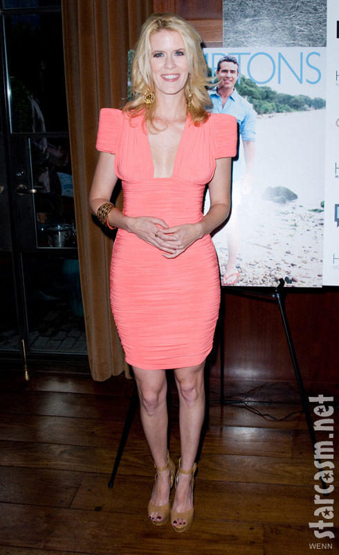 Alex McCord at Andy Cohen's Hamptons magazine cover party