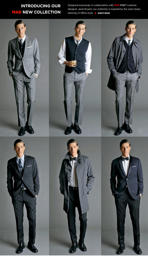 9fd588d008 Full-length photos of the Mad Men inspired Banana Republic capsule  collection