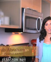 Teen Mom Farrah Abraham in Pyramid kitchen cooking tutorial