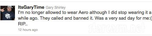 Teen Mom's Gary Shirley tweets about Aeropostale ban