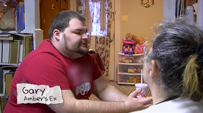 Teen Mom Gary Shirley's Aeropostale shirt blurred out, censored by MTV