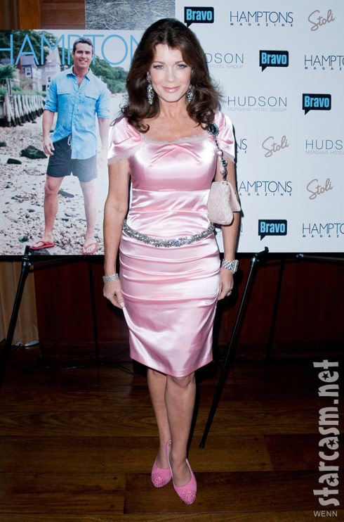 Lisa Vanderpump at Andy Cohen's Hamptons magazine cover party