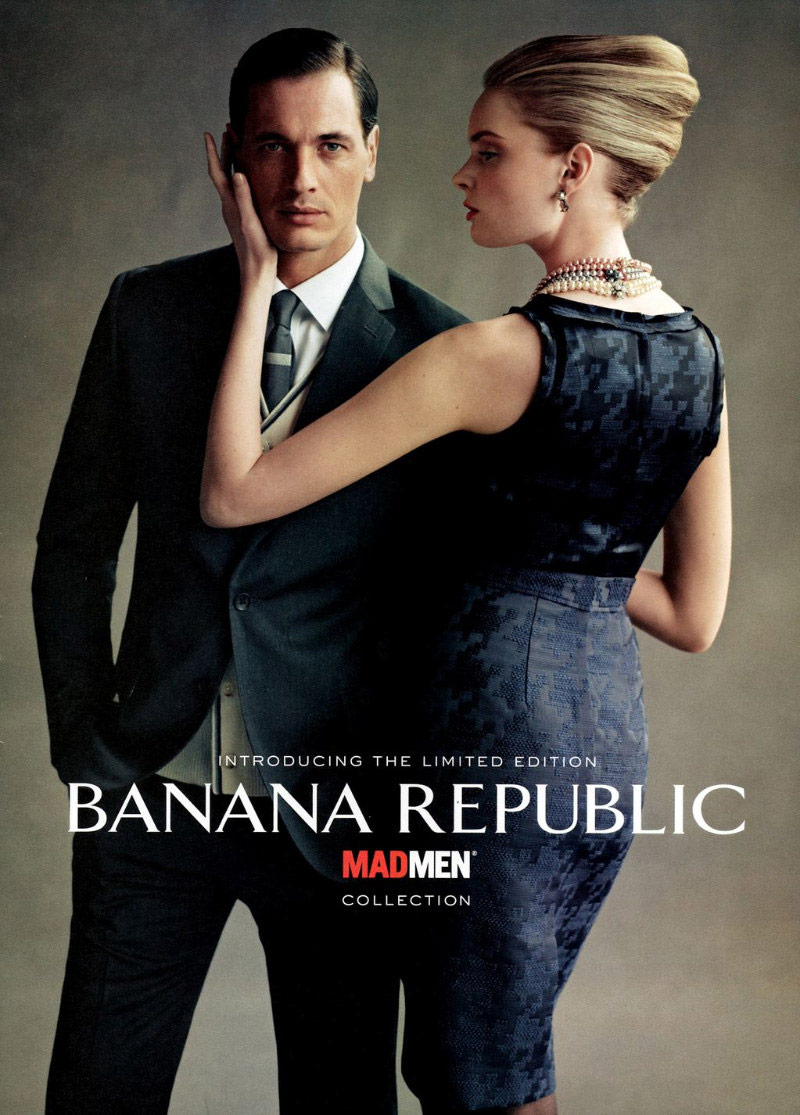 7164c218b0 PHOTOS Banana Republic 'Mad Men' inspired clothing line for men and ...