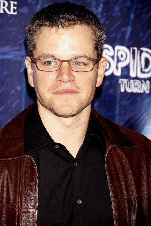 Matt Damon file photo