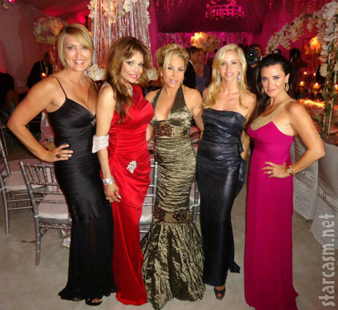Wendy Burch, LaToya Jackson, Adrienne Maloof, Camille Grammer, and Kyle Richards.