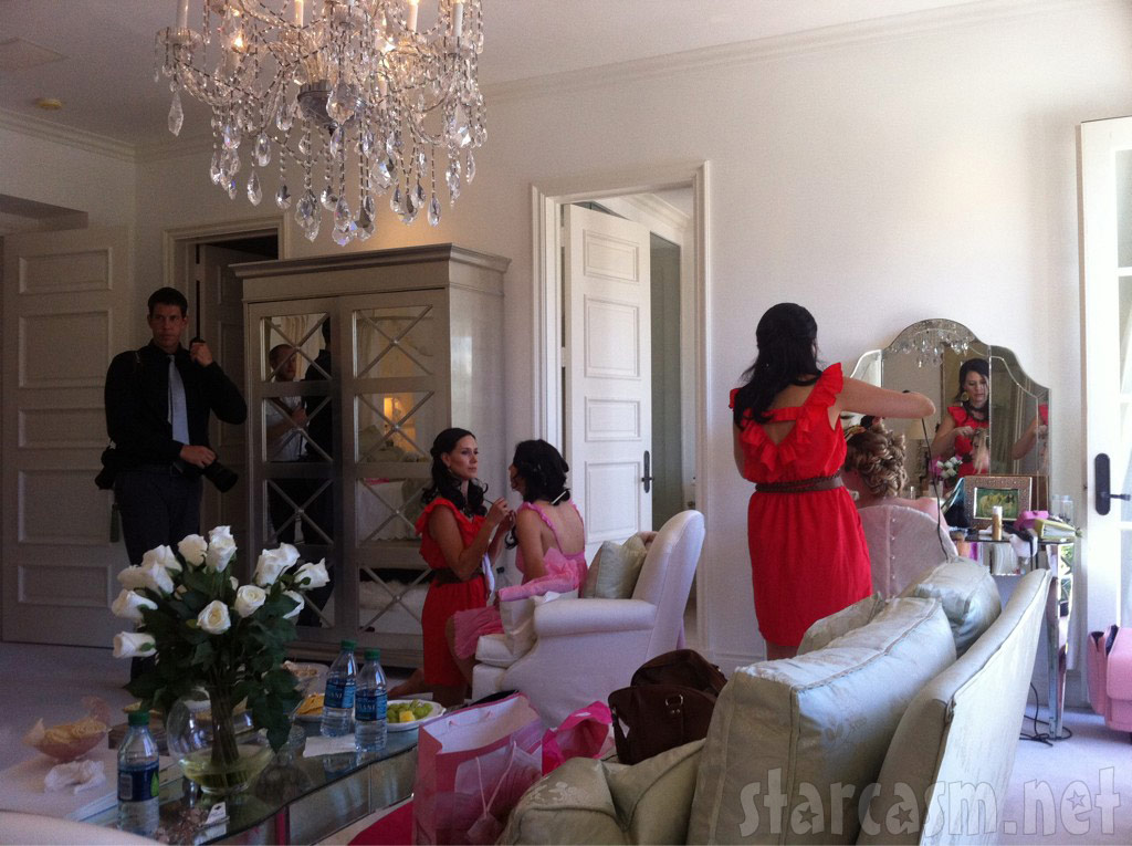 3 Loves Beauty prepares for Pandora Vanderpump-Todd's wedding August 27, 2011