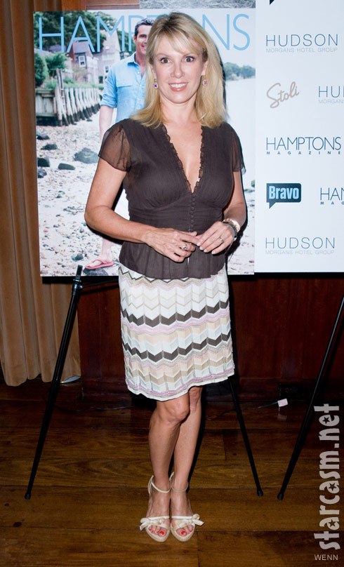 Ramona Singer at Andy Cohen's Hamptons magazine cover party