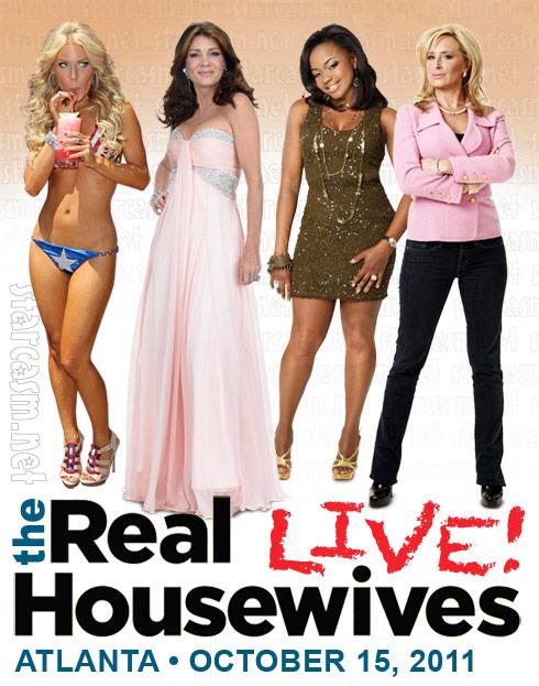 Real Housewives Live Tour Atlanta Lisa Vanderpump Gretchen Rossi Phaedra Parks Sonja Morgan