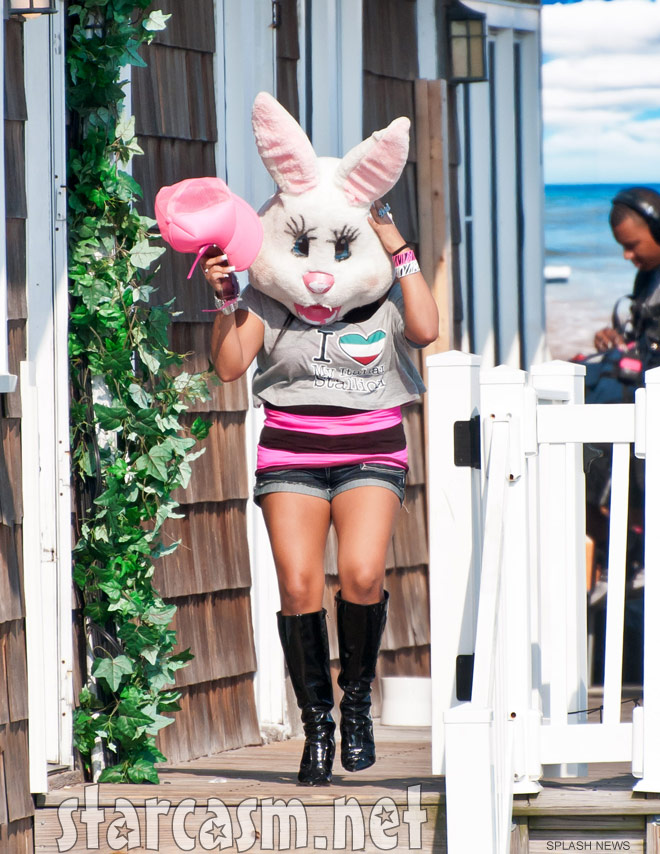 Seaside Heights gets a visit from the Snooki Bunny