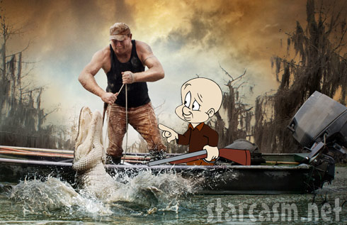 Elmer Fudd goes alligator hunting with Swamp People