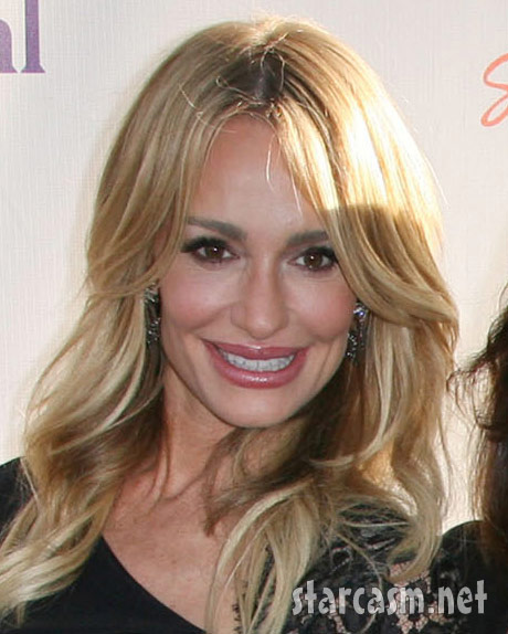 RHOBH Taylor Armstrong looks hot at NBC Press Tour Party