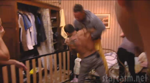 VIDEO Ronnie and The Situation fight it out on Jersey Shore