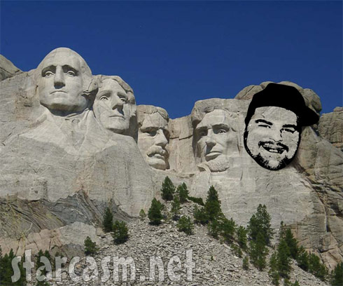 It's Gary Time! added to Mount Rushmore