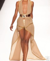 Anya Ayoung-Chee finale collection look 2 from Fashion Week in New York City