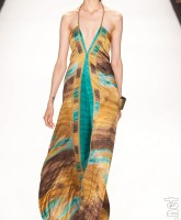 Dress design by Anya Ayoung-Chee for the PRoject Runway Season 9 finale runway show