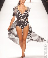 Swimsuit designed by Anya Ayoung-Chee for the PRoject Runway Season 9 finale