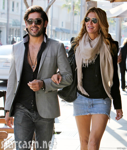 Brandi Glanville with Lis Vanderpump's ex houseboy Cedric Martinez