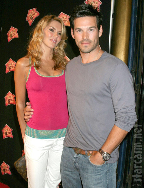 Brandi Glanville and husband Eddie Cibrian in 2005