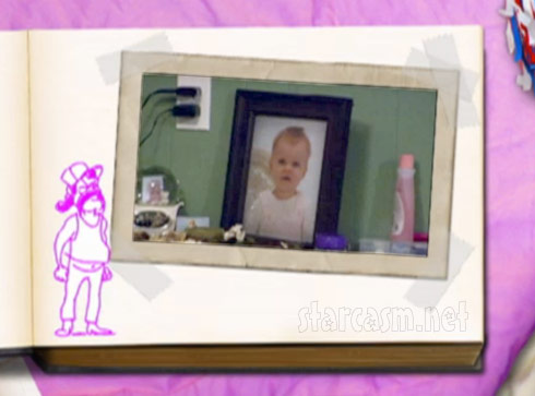 Drawing of Tyler's dad Butch Baltierra from the Teen Mom Season 3 finale