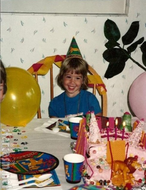 Photo of Teen Mom Chelsea Houska as a child