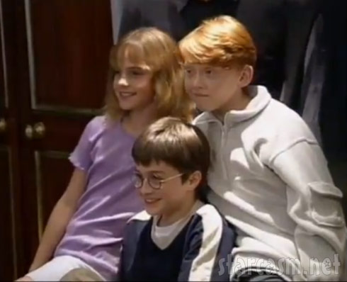 Emma Watson Daniel Radcliffe Rupert Grint from Growing Up With Harry Potter