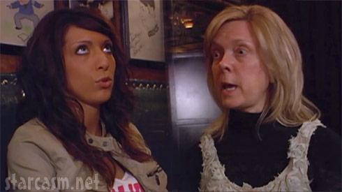 Teen Mom Farrah Abraham and mother Debra Danielson argue in Arizona