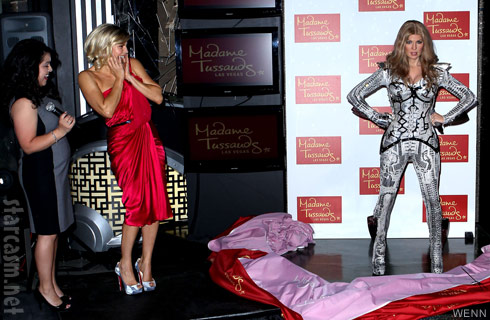 Madame Tussauds unveils wax sculpture of Fergie from The Black Eyed Peas