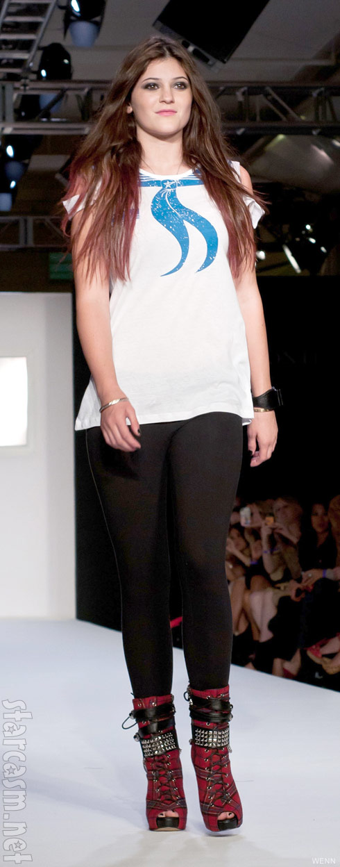 Kylie Jenner in the 2011 Abbey Dawn runway show September 12 2011