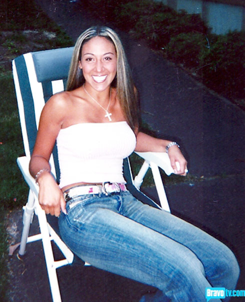 Melissa Gorga before she was one of The Real Hosuewives of New Jersey