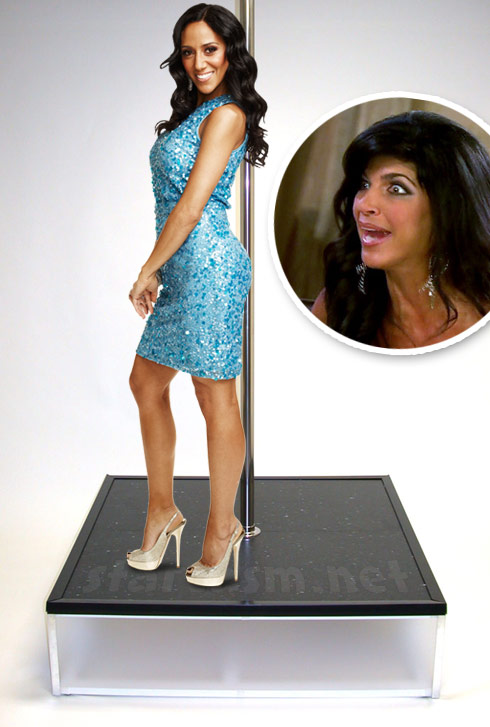 Teresa Giudice allegedly invited a male stripper to accuse Melissa Gorga of being a stripper