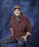 Glee Season 3 cast yearbook photo of Kurt's dad Burt Hummel played by Mike O'Malley