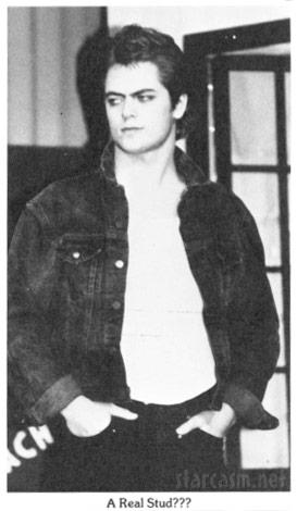 Ron Swanson actor Nick Offerman high school yearbook photo from Minooka High School