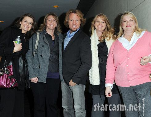 Robyn, Meri, Kody, Christine and Janelle Brown Season 3