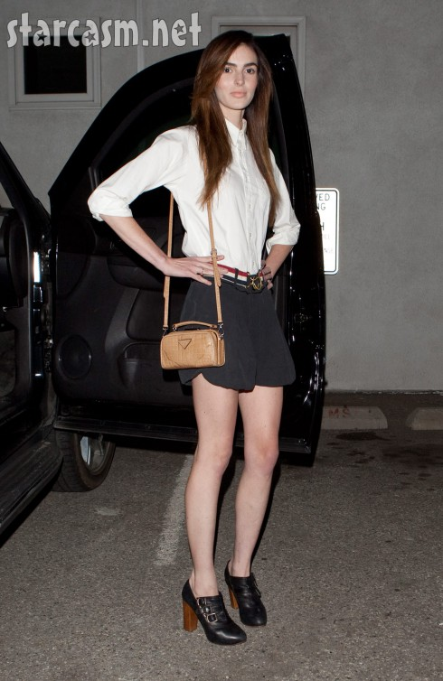 Ali Lohan weight loss new face