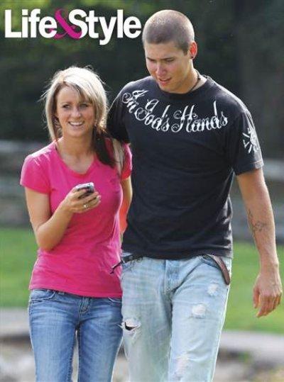 Leah Messer with boyfriend Jeremy Calvert