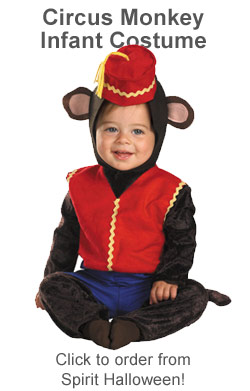 Abu Halloween costume for kids from Disney's Aladdin movie